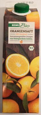 Rewe Bio Orangensaft, 100% Direktsaft - Produkt - de