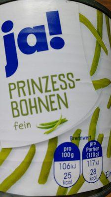 Prinzessbohnen - Produkt - de