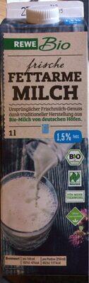 Rewe Bio Frische Fettarme Milch - Product - de