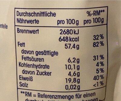ja! Nusskern Mischung - Informations nutritionnelles - de