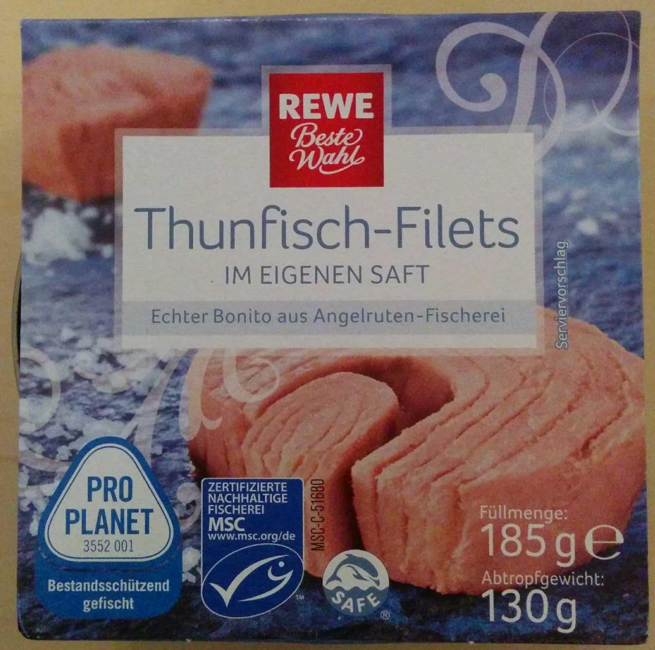 Thunfisch-Filets - Produit - de