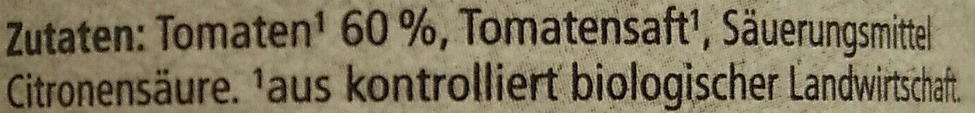 Tomaten in Stücken - Ingrédients - de