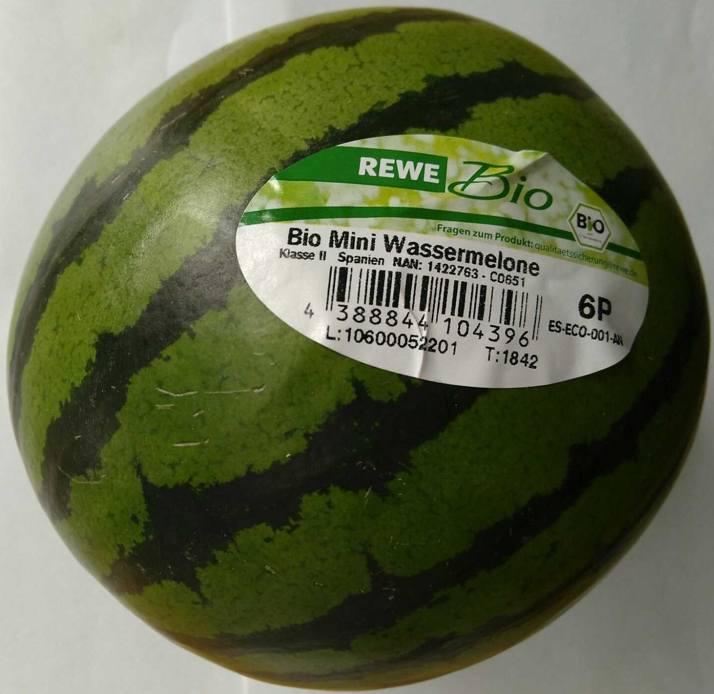 Bio Mini Wassermelone - Produit