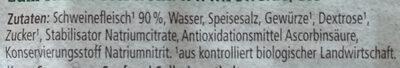 bio Bierschinken - Ingrediënten - de