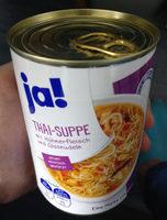 THAI-SUPPE mit Hühnerfleisch und Glasnudeln - Produkt