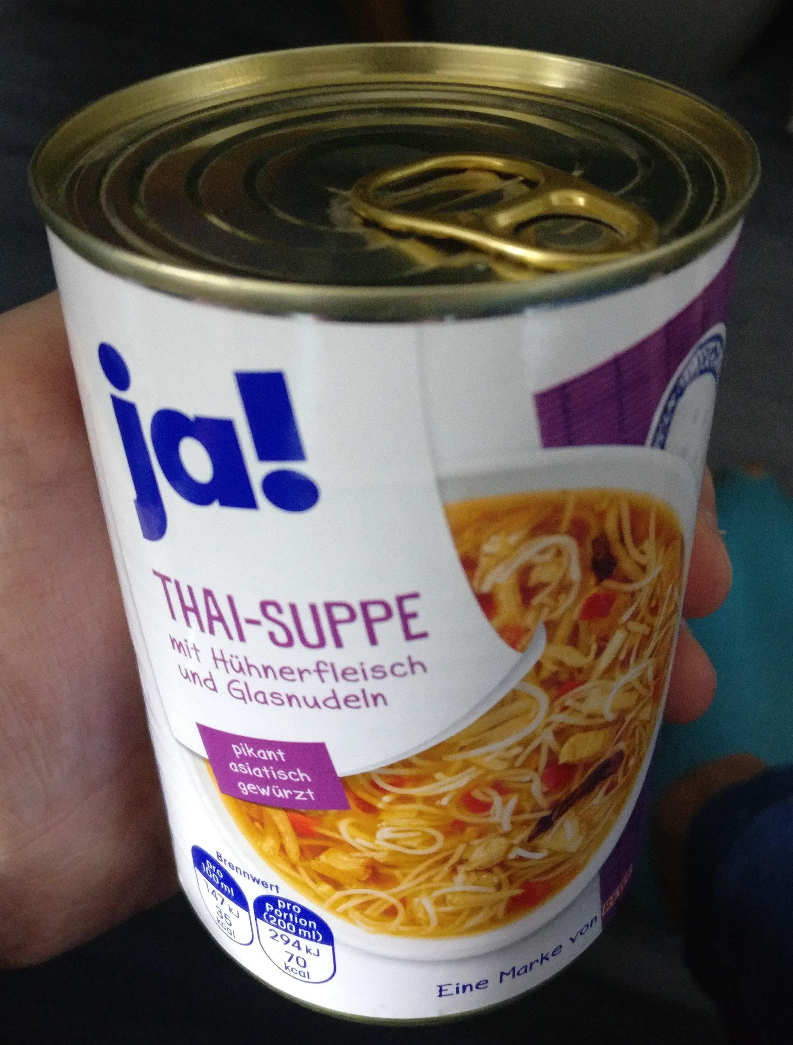 Thai Suppe Mit Huhnerfleisch Und Glasnudeln Ja 400 Ml