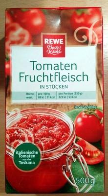 Tomaten Fruchtfleisch in Stücken - Produkt