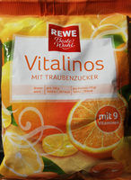 Vitalinos mit Traubenzucker - Product - de