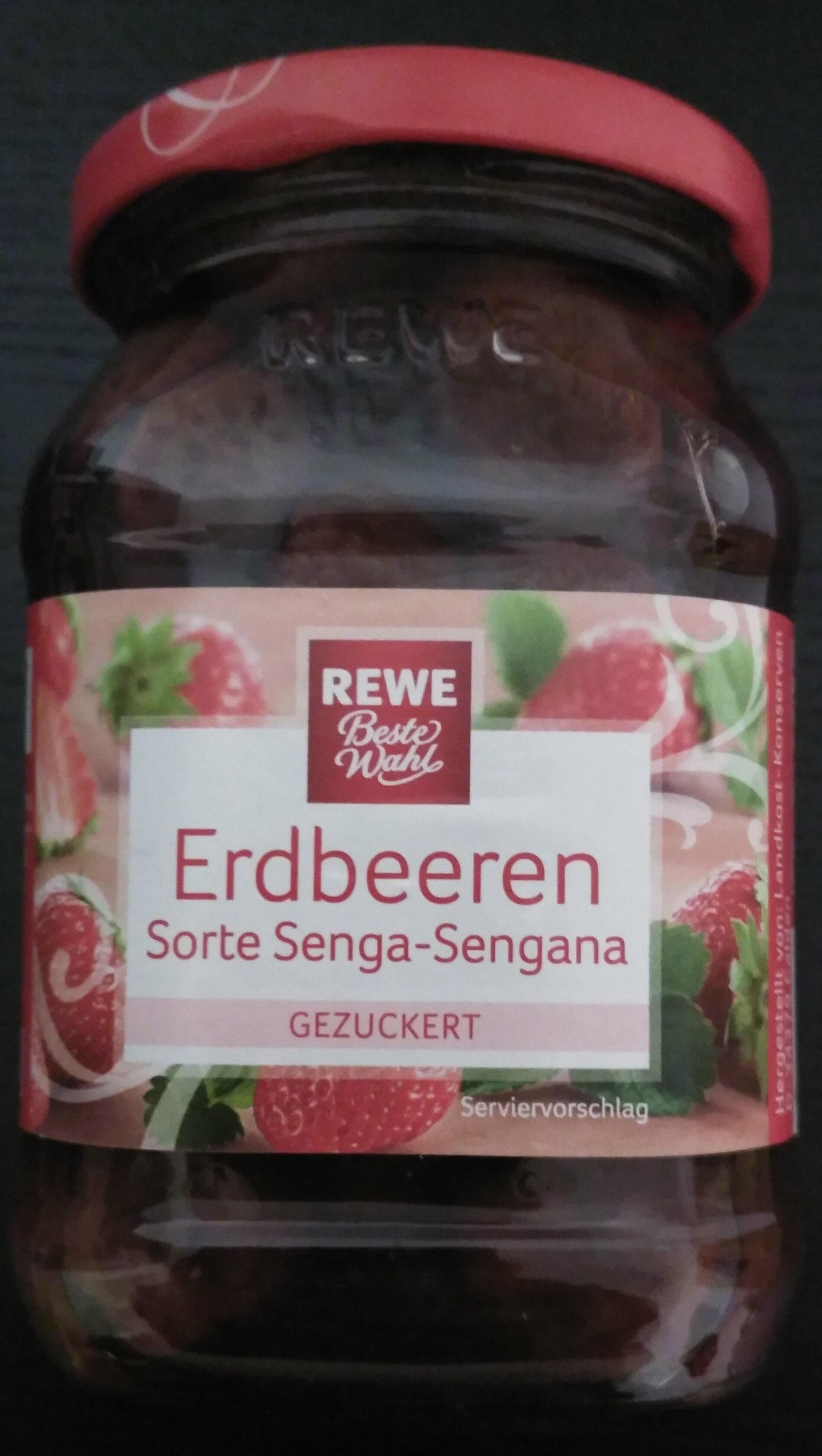 Erdbeeren, Sorte Senga-Sengana, gezuckert - Product - de