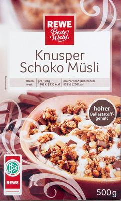 Knusper Schoko Müsli - Product - de