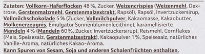 Knusper Schoko Müsli - Ingredients - de