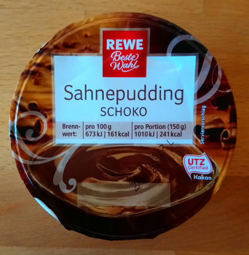Sahnepudding Schoko - Product