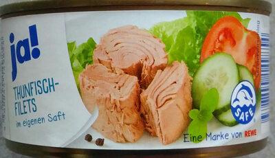 Thunfisch Filets In Eigenem Saft - Produit - de