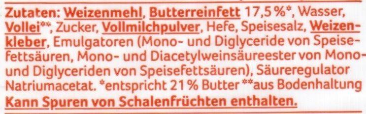 Buttercroissant - Ingrediënten - de