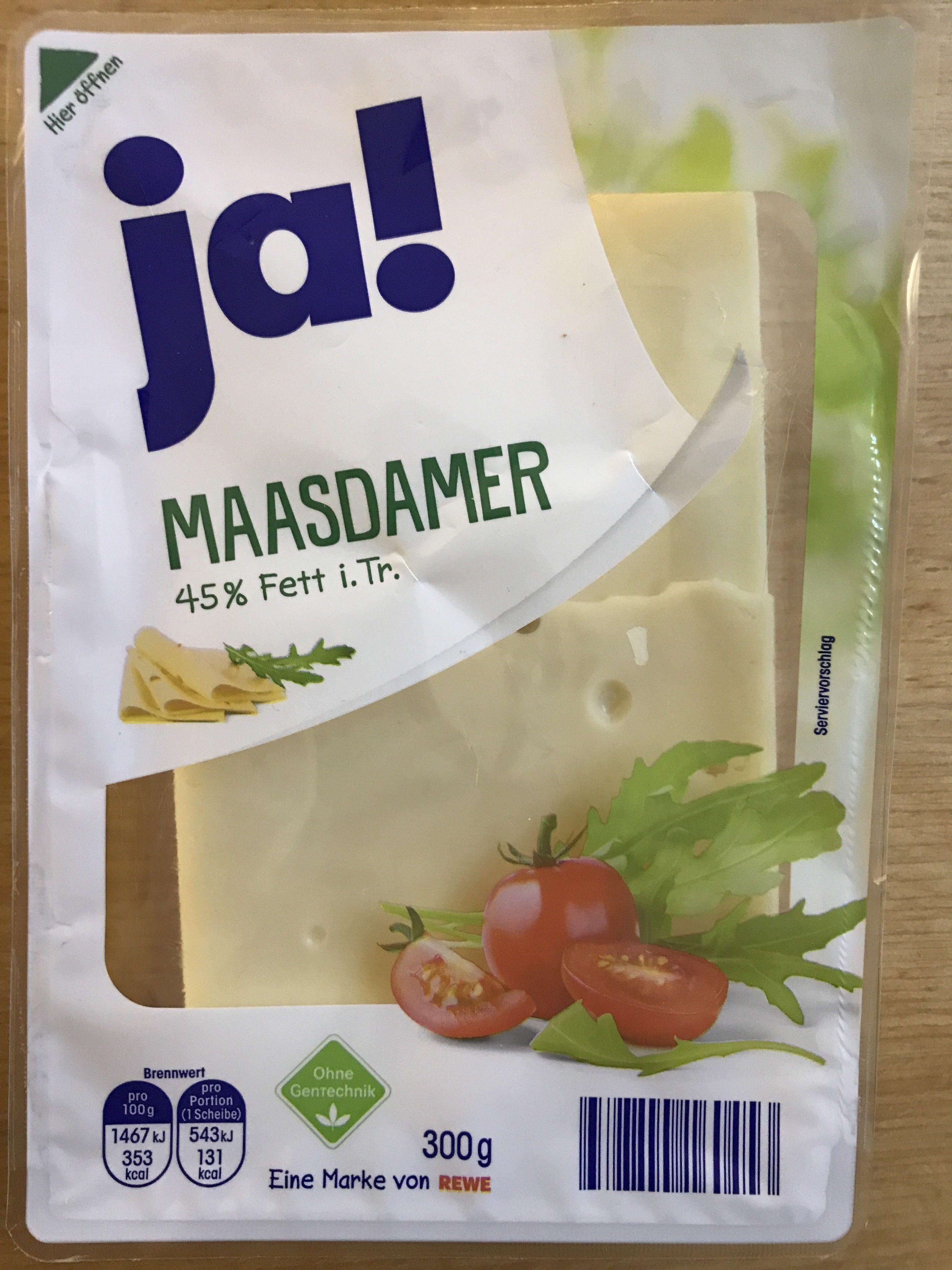 Ja ! Maasdamer - Produkt