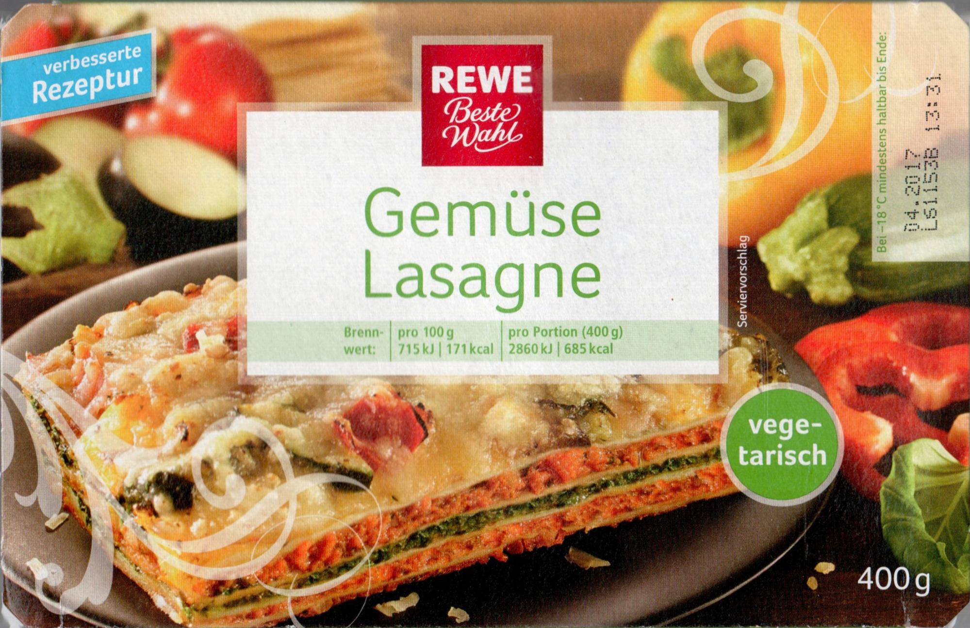 Gemüse Lasagne - Produit - de