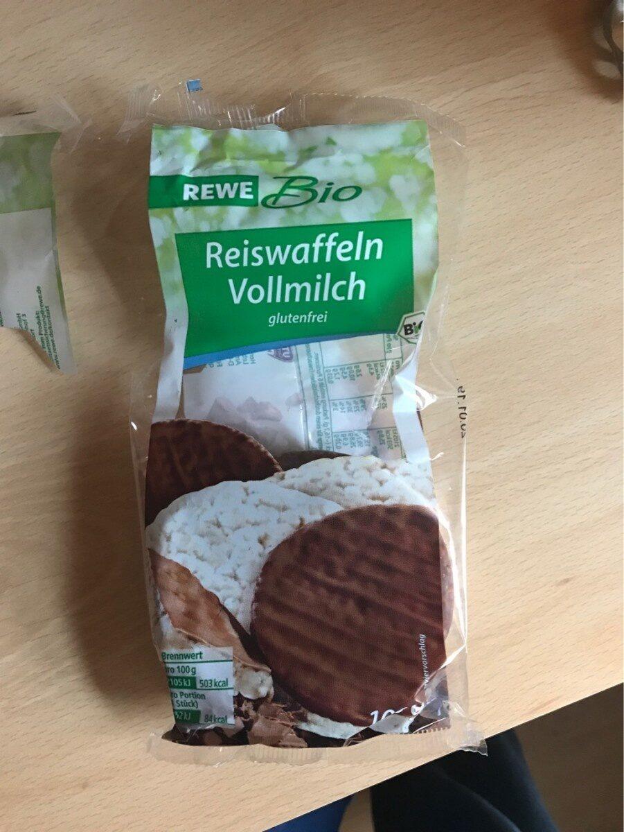 Rewe Bio Reiswaffeln Vollmilch - Produit