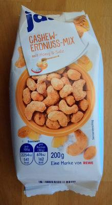 Cashew-Erdnuss-Mix mit Honig & Salz - Produkt