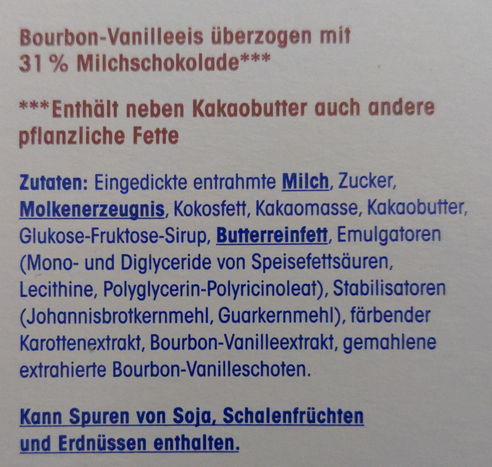 Classic Eis am Stiel - Zutaten - de
