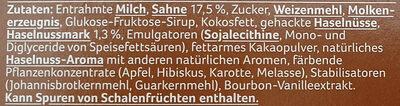 Crispy Cones Haselnuss - Ingredients - de