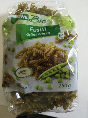 Rewe Bio Fusilli Grüne Erbsen - Produit - fr