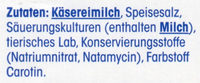 Gouda Holland Mittelalt - Inhaltsstoffe