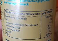 Lamate - Nutrition facts - de