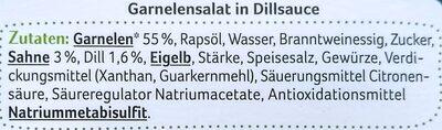 Garnelen Salat in Dillsauce - Zutaten - de