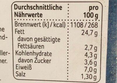 Garnelen Salat in Dillsauce - Nährwertangaben - de