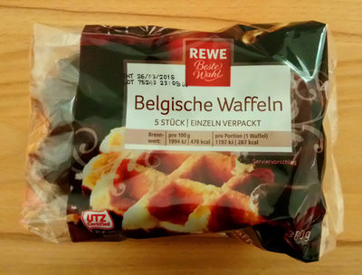 Belgische Waffeln - Produit - de