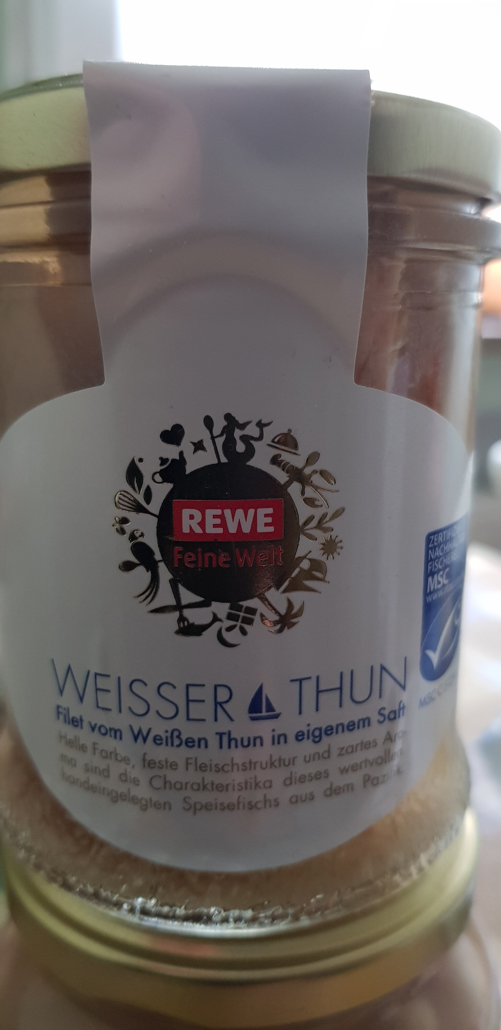 Thon blanc - Produkt - de
