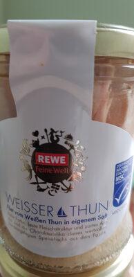 Thon blanc - Nährwertangaben - de