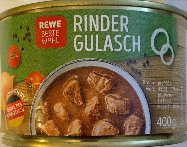 Rinder Gulasch - Produkt - fr