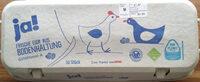 Frische Eier aus Bodenhaltung Güteklasse A - Product - de