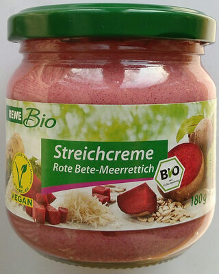 Streichcreme Rote Bete-Meerrettich - Product - de