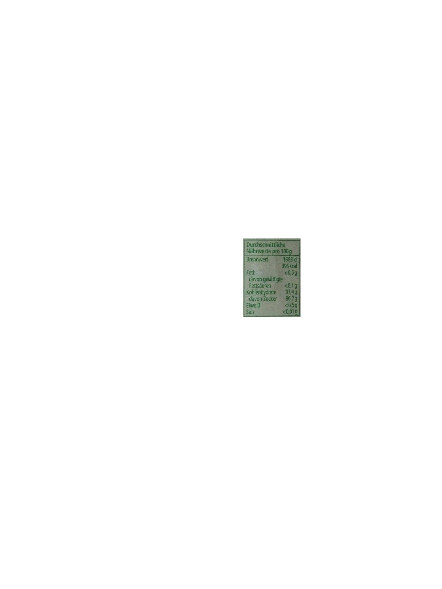 REWE Bio Roh-Rorzucker - Inhaltsstoffe - de