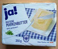 Ja! Deutsche Markenbutter - Prodotto - de