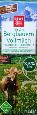 Frische Bergbauern Vollmilch - Produit