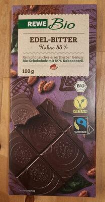 Bio Bitterschokolade 85%, Rewe Bio - Produkt - de