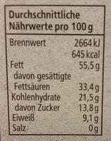 Bio Bitterschokolade 85%, Rewe Bio - Nährwertangaben - de