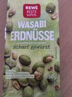 Rewe Beste Wahl Wasabi Erdnüsse - Produit