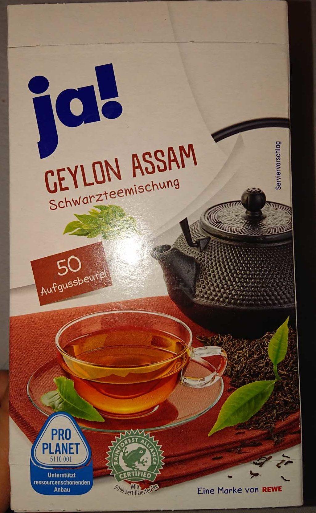 Ceylon Assam - Product