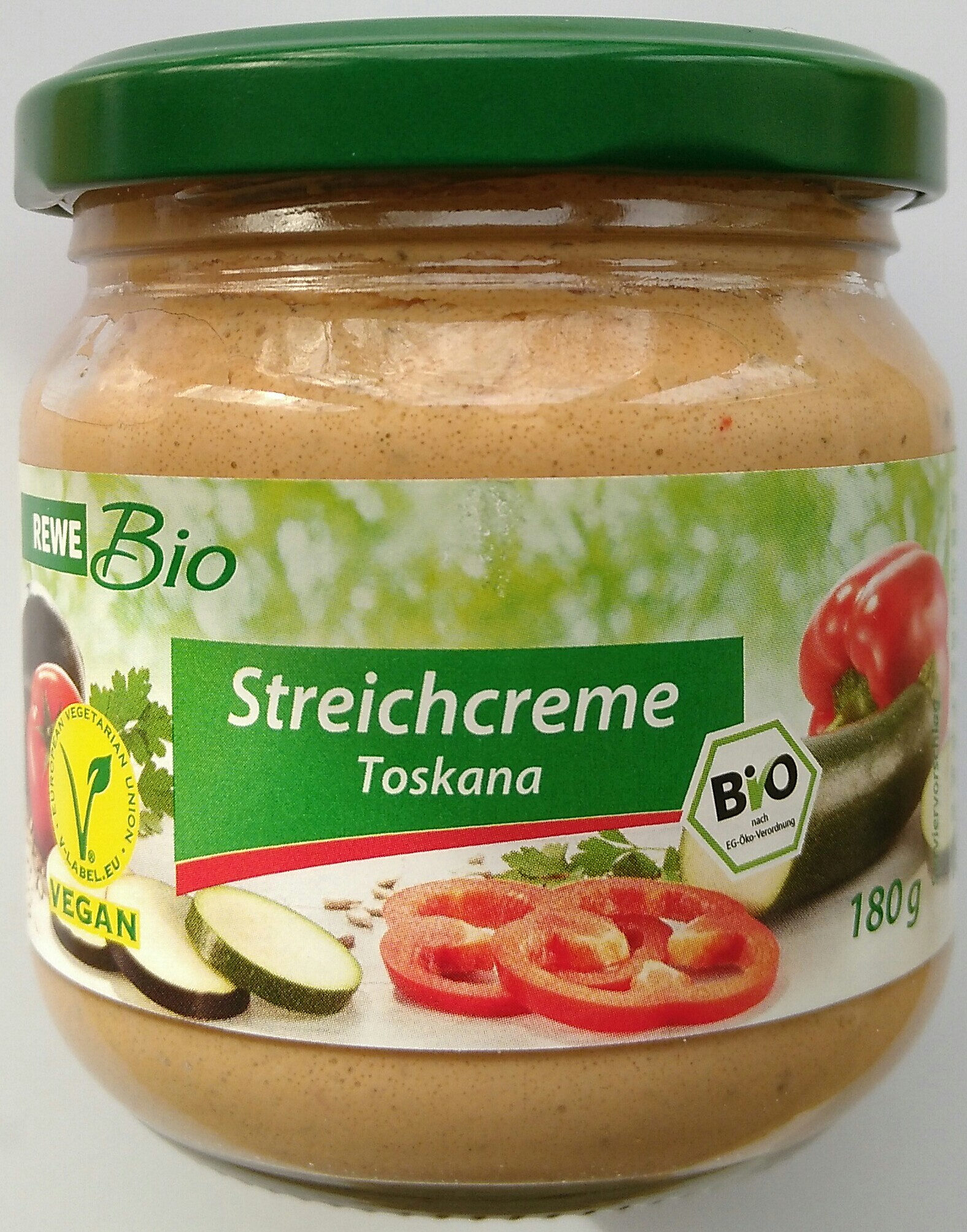 Bio-Streichcreme Paprika, Zucchini & Aubergine - Produit - fr