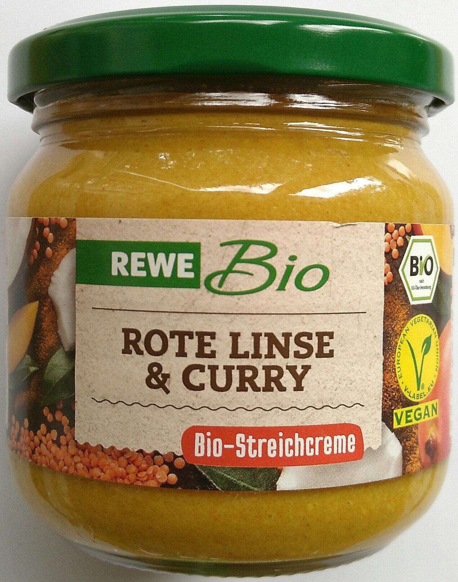 Bio-Streichcreme Rote Linse & Curry - Product - de