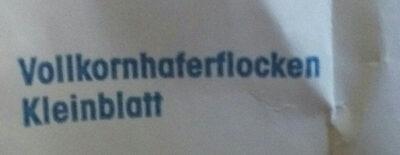 Zarte Haferflocken - Ingredients - de