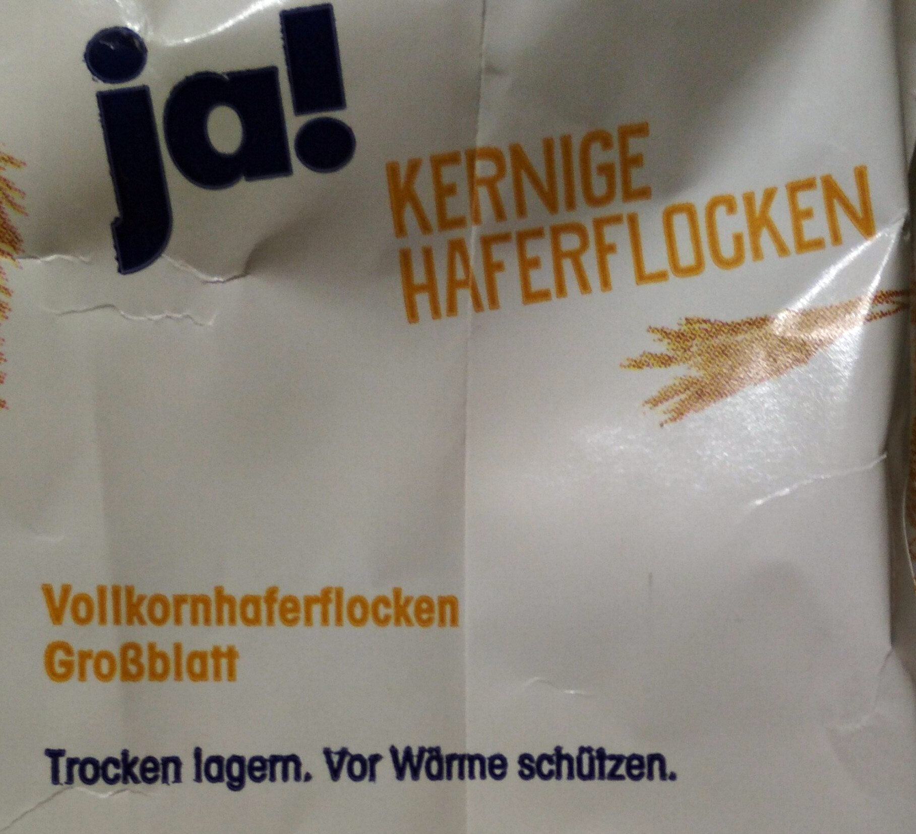Kernige Haferflocken - Ingredients - de