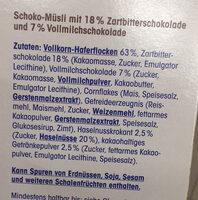 Schokomüsli - Ingredients - de