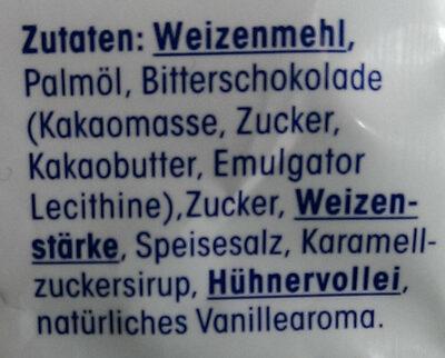 Schoko-Tatzen - Zutaten - de