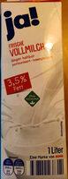 Frische Vollmilch (3,5% Fett) - Produkt - de