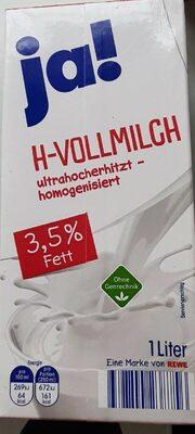 H-Vollmilch - Produit - de